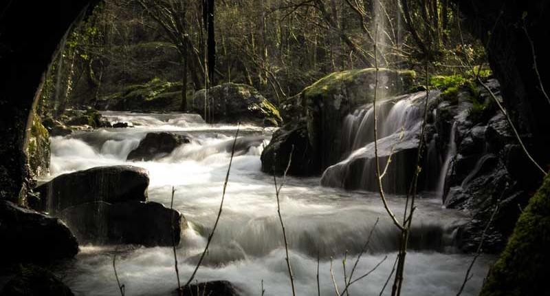 Río Umia. Lagar de Ribela